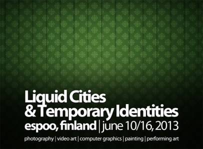 liquid cities & temporary identities | finland 2013