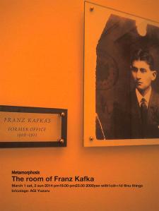 Metamorphosis / The room of Franz Kafka